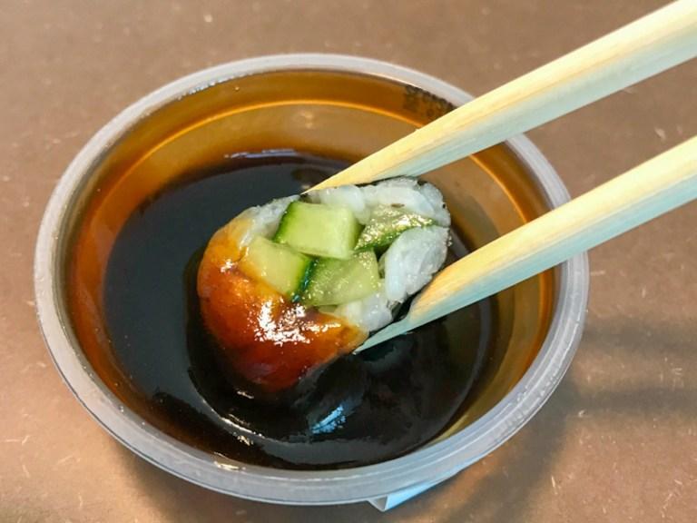 Maki Sushi with Teriyaki Sauce by eat happy Hamburg Hafencity