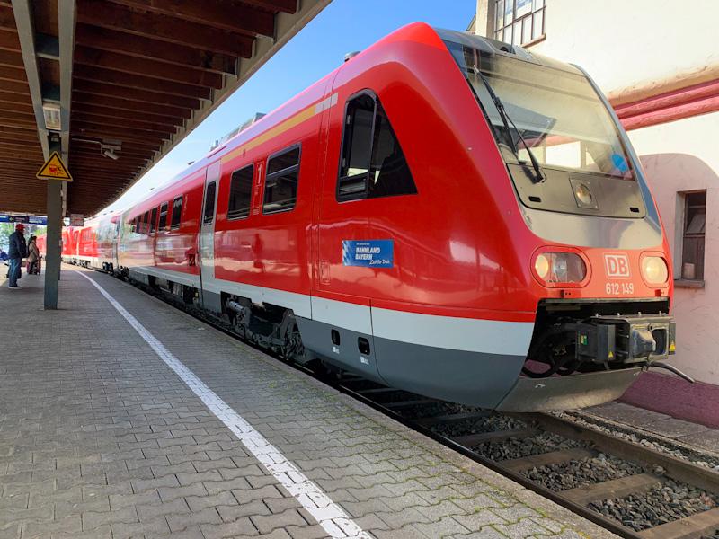 DB Regio Bayern train in Lindau
