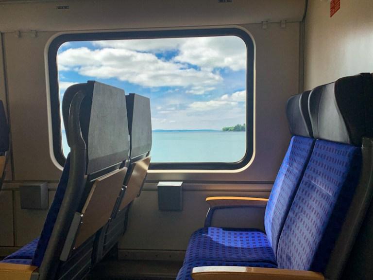 DB Regio Bayern Train from Lindau to Augsburg