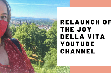 Relaunch JoyDellaVita Travelblog YouTube Video Header