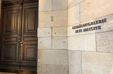 entrance Dresden Old Masters Gallery Semper Gallery Zwinger blog JoyDellaVita