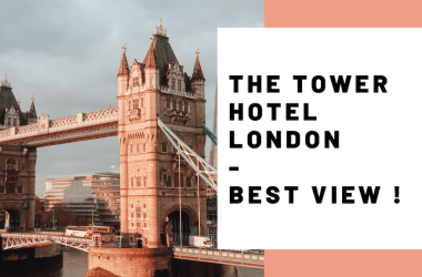 The Tower of London Hotel Best View Tower Bridge Tower Hill JoyDellaVita Travelblog YouTube Video Header