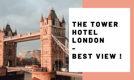 The Tower of London Hotel Best View Tower Bridge Tower Hill JoyDellaVita Travelblog YouTube Video Header