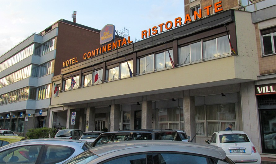 Staying at Best Western Continental Hotel Como (before refurbishment) / now B&B Hotel Como City Center