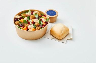 Lufthansa Falafel Tahini Salad