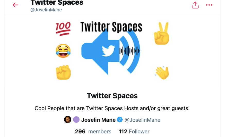 These Twitter accounts regularly host Twitter Spaces