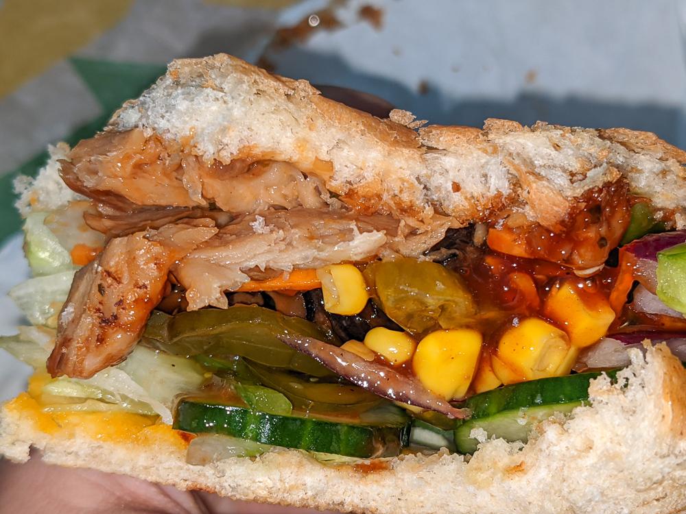 Subway Germany Meatless Chicken Teriyaki Review Travel Blog JoyDellaVita