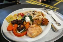 vegetarian buffet lunch zurich hiltl
