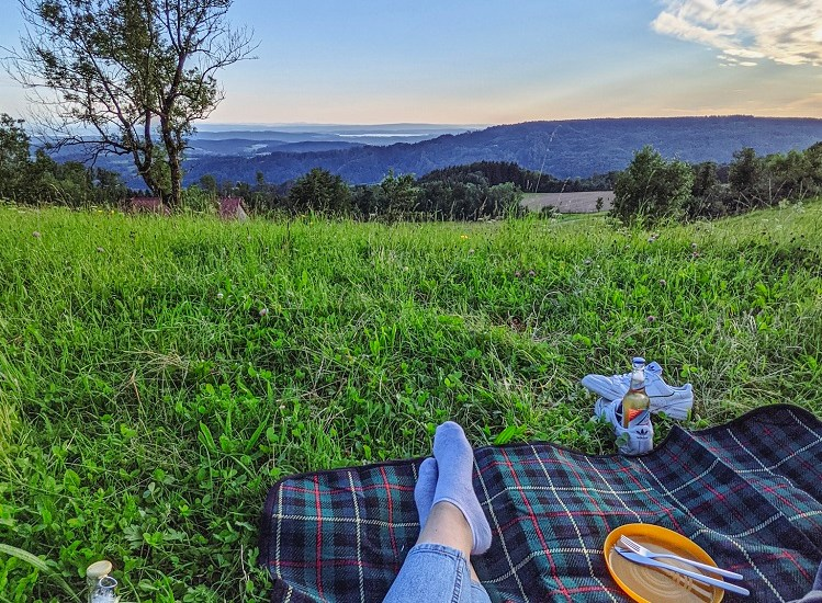 summer outdoor picnic food veggie vegan vegetarian travel blog joydellavita