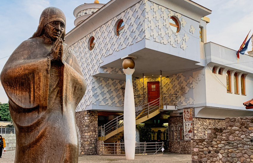 Skopje famous people Mother Teresa Museum Blog joydellavita