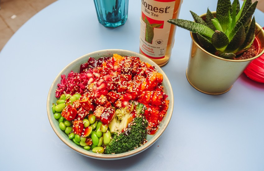 Vegan Tofu Poke Bowl Hamburg blog joydellavita