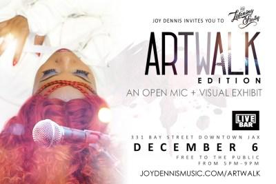 The Listening Party: Artwalk Edition (December 6)