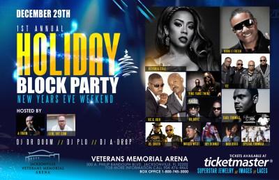 Joy Dennis added to Holiday Block Party ft. Keyshia Cole & Friends (Dec 29)