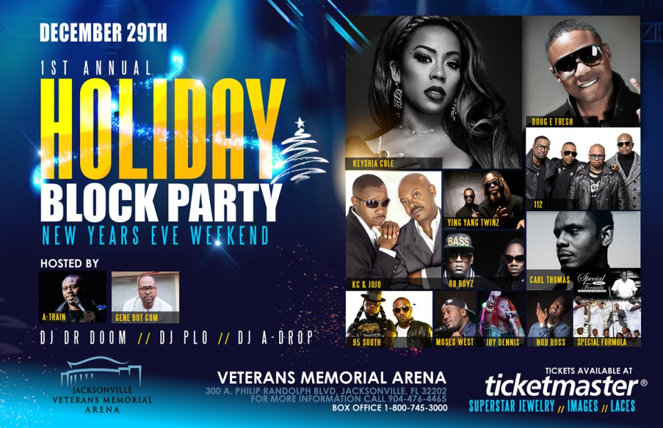 Joy Dennis added to Holiday Block Party ft. Keyshia Cole & Friends (Dec 29)