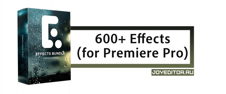 600+ Effects (for Premiere Pro)