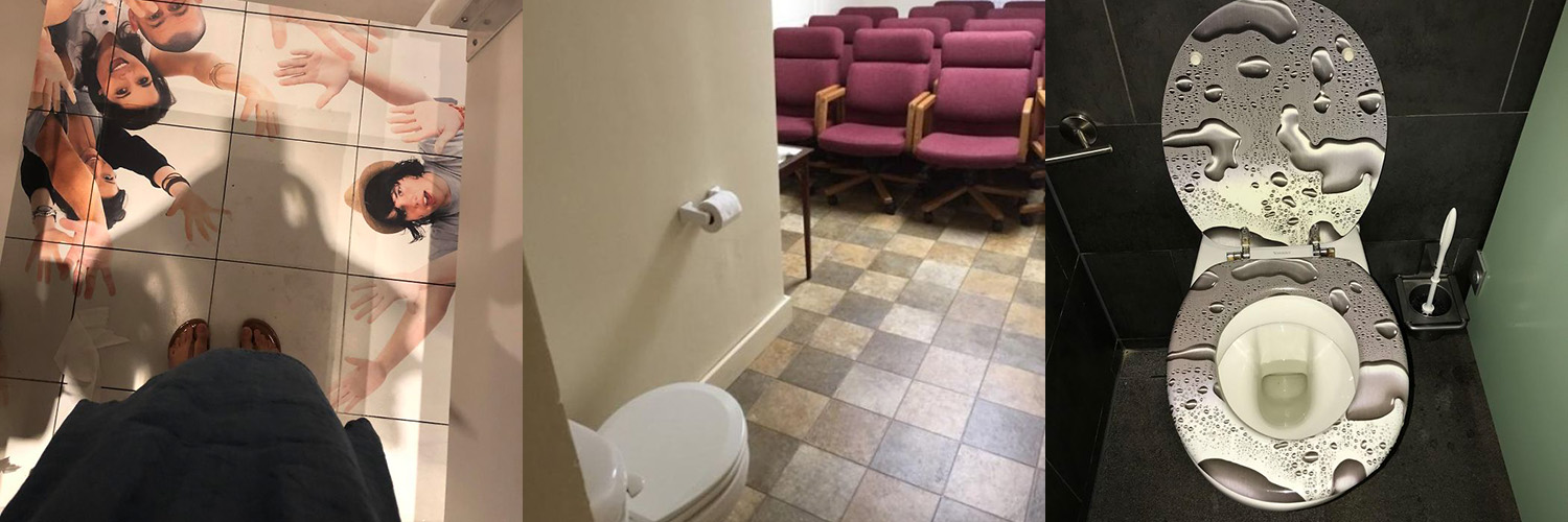 If You Didn't Hate Public Restrooms Enough Then Here are 40 WTF Public Toilet and Bathroom Fails