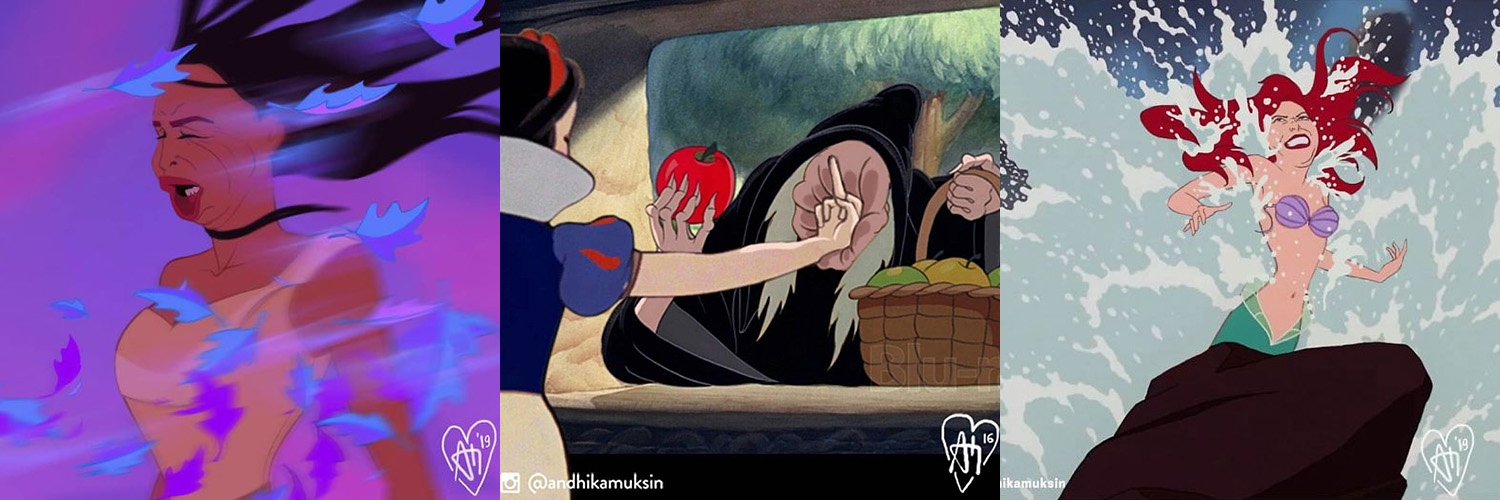 If Disney Princesses Were Like the Rest of Us