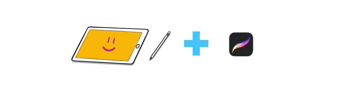 Procreate sur iPad permet de mettre ses gribouilles au propre
