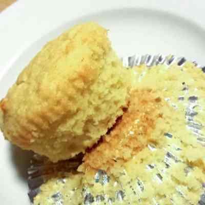 Sour Cream Vanilla Cupcakes – Low Carb, Grain Free, THM S