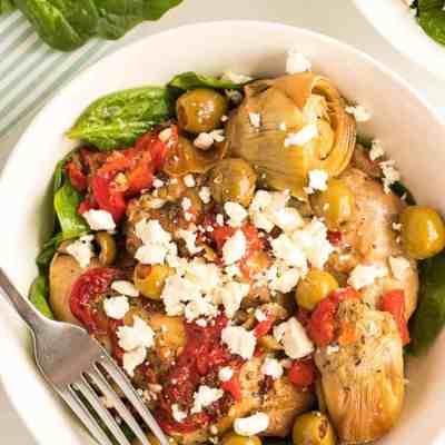 Crock Pot Mediterranean Chicken Recipe Low Carb Keto