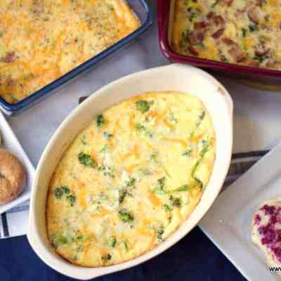Easy Egg Bake with Cream Cheese – Low Carb, Keto, THM S