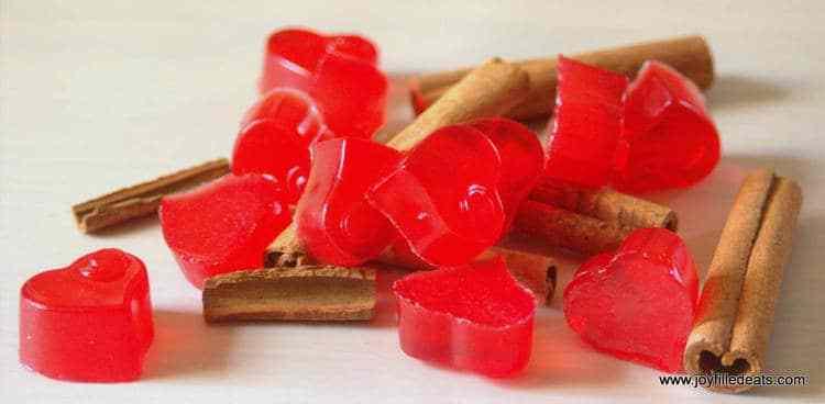 Red Hot Cinnamon Gummies - THM FP, sugar free, gluten, dairy, & grain free, low carb