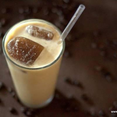 Copycat Starbucks Sugar Free Vanilla Latte Frappuccino