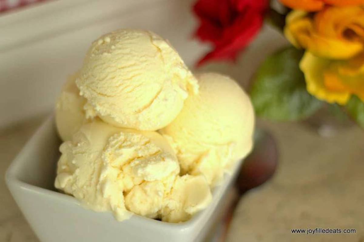 Cannoli Ice Cream - Low Carb, Grain Free, Gluten Free, Sugar Free, THM S