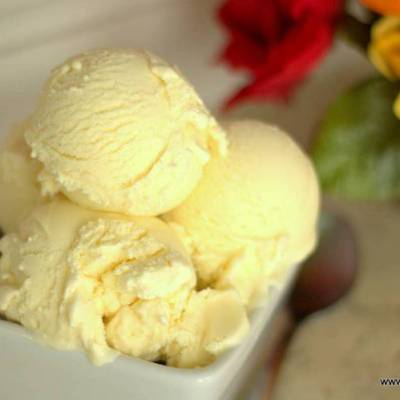 Cannoli Ice Cream – Low Carb & Sugar Free