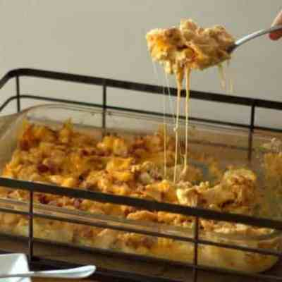 BBQ Chicken Casserole with Bacon – Low Carb, Keto