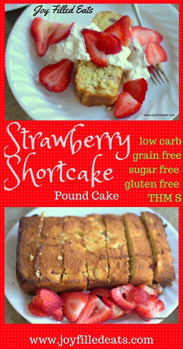 Strawberry Shortcake Pound Cake Joy Filled Eats