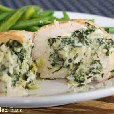 Spinach & Artichoke Stuffed Chicken Breasts – Low Carb, Grain Free, THM S