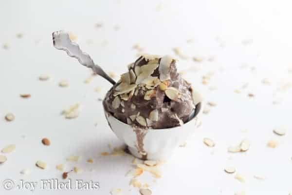 Almond Joy Ice Cream - Low Carb, Sugar Free, THM S