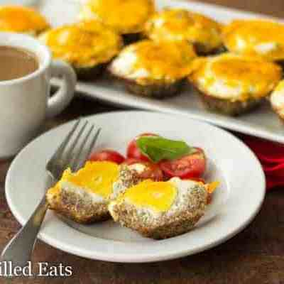 Sausage Crusted Egg Muffins