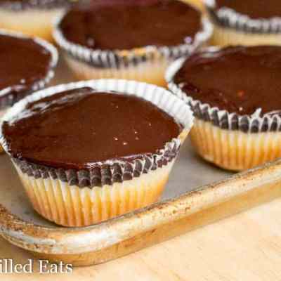 Tagalong Cupcakes –  Low Carb, Sugar Free, THM S