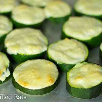Garlic Parmesan Zucchini – Low Carb, THM S, Grain Free