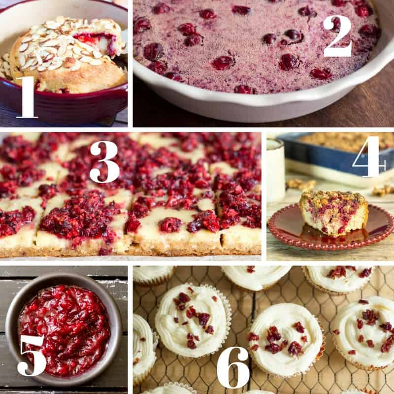 Low Carb THM Grain Free Cranberry Recipes