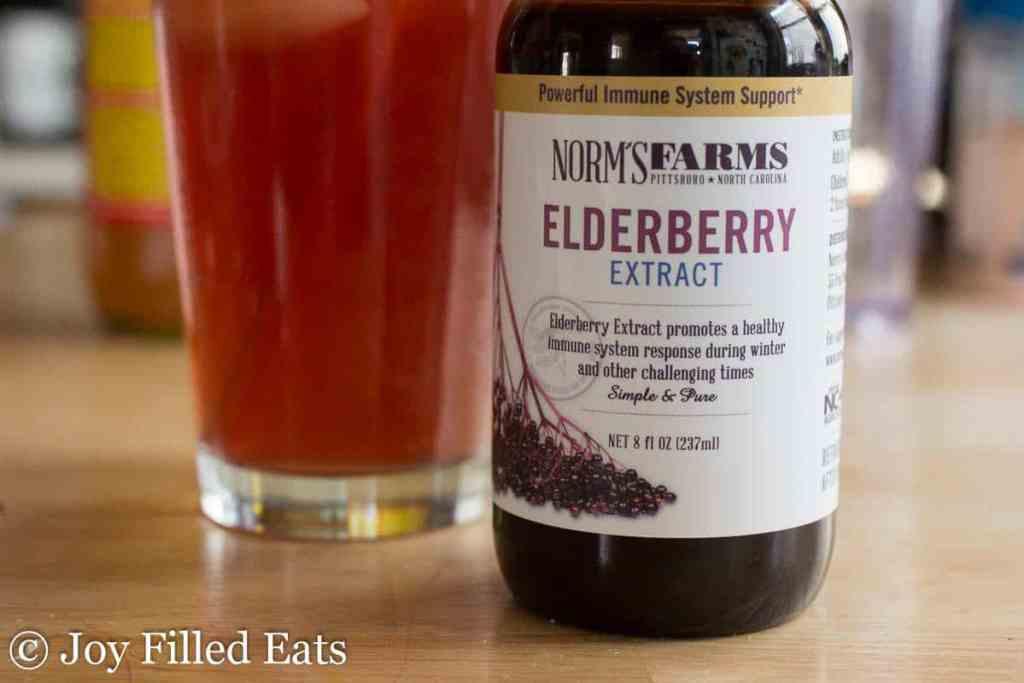 Elderberry Good Girl Moonshine - Low Carb, Sugar Free, THM FP