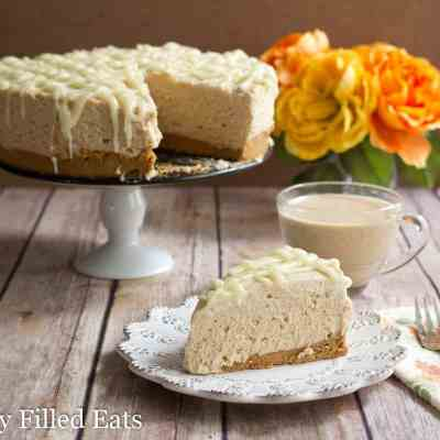 White Chocolate Peanut Butter Cheesecake