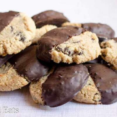 Chocolate Chip Shortbread Cookies – Low Carb THM S