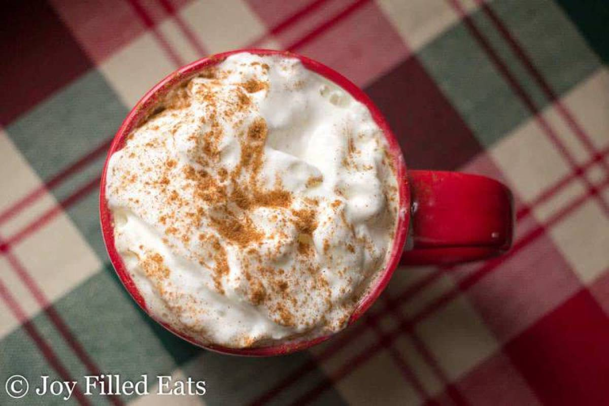 Cinnamon Vanilla Latte - Low Carb, Sugar Free, THM S
