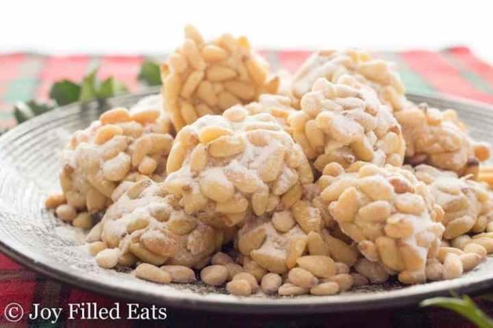 Pignoli Cookies - Low Carb, Grain/Gluten/Sugar Free, THM S