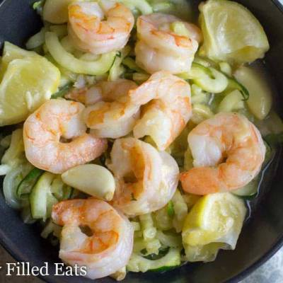 Baked Shrimp Scampi – Low Carb, Grain Free, THM S