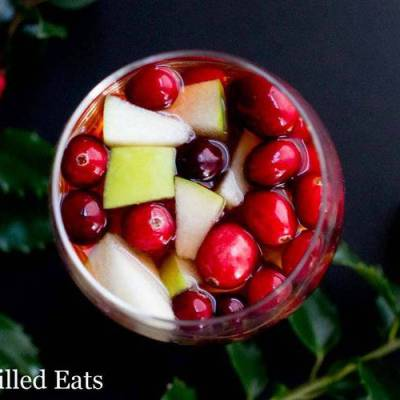 Apple Cider Sangria – Keto, Low Carb, Sugar-Free