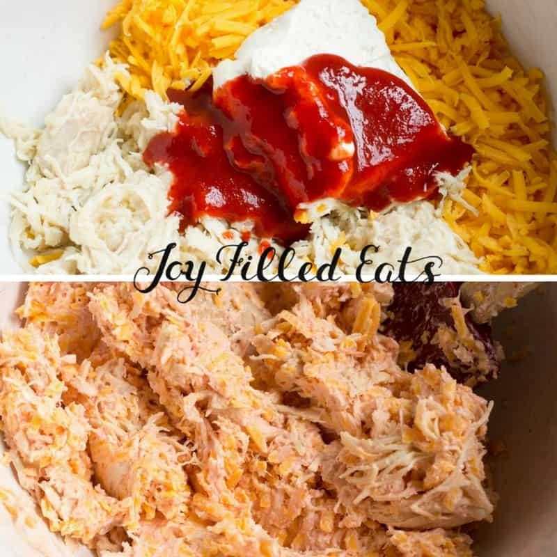 Spicy Chicken Empanadas with Cilantro Sour Cream - Joy ...