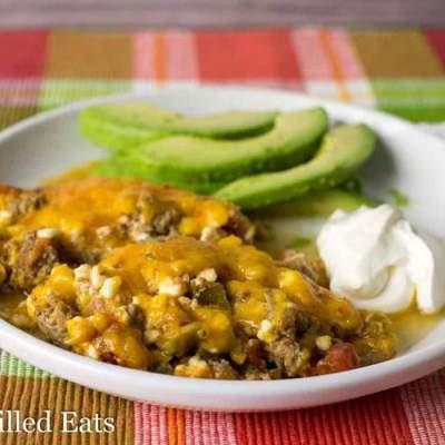 Keto Taco Casserole Recipe – Low Carb Keto Gluten Free