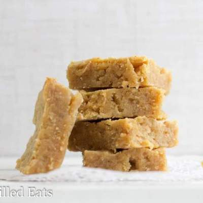 White Chocolate Peanut Butter Blondies