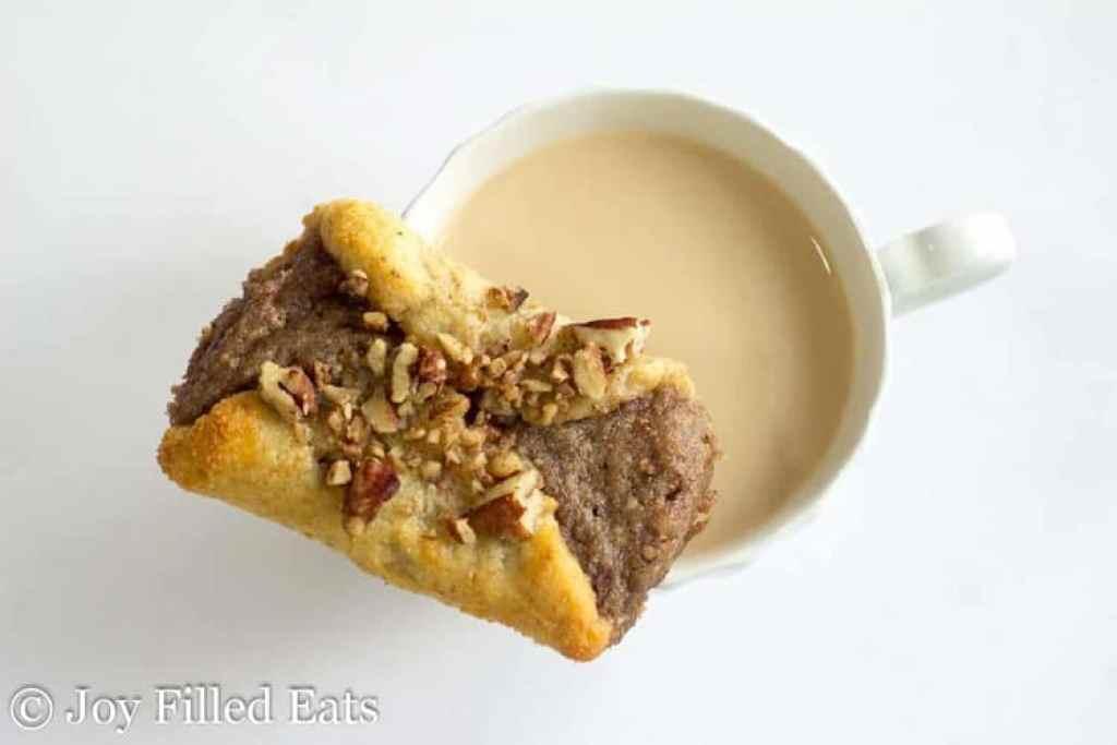 Pecan Danish - Low Carb, Grain Gluten Sugar Free, THM S