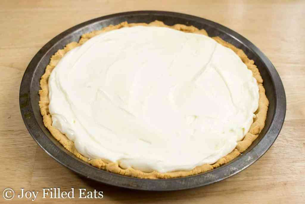 Lemon Ricotta Pie - Low Carb, Grain Gluten Sugar Free, THM S
