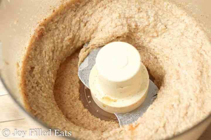 Nutty Chocolate Chip Cookie Tart - Low Carb, Grain Gluten Sugar Free, THM S